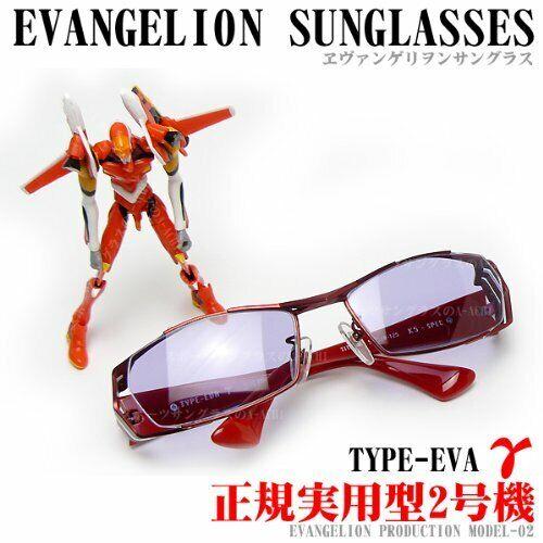 Neon  genesis evangelion sunglasses type-eva gamma rouge blanc gris unisex animated  meilleurs prix et styles les plus frais