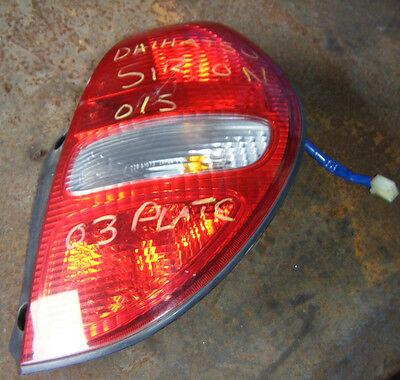 Drivers Side Rear Light, Stoplamp Led Bar Daihatsu Sirion