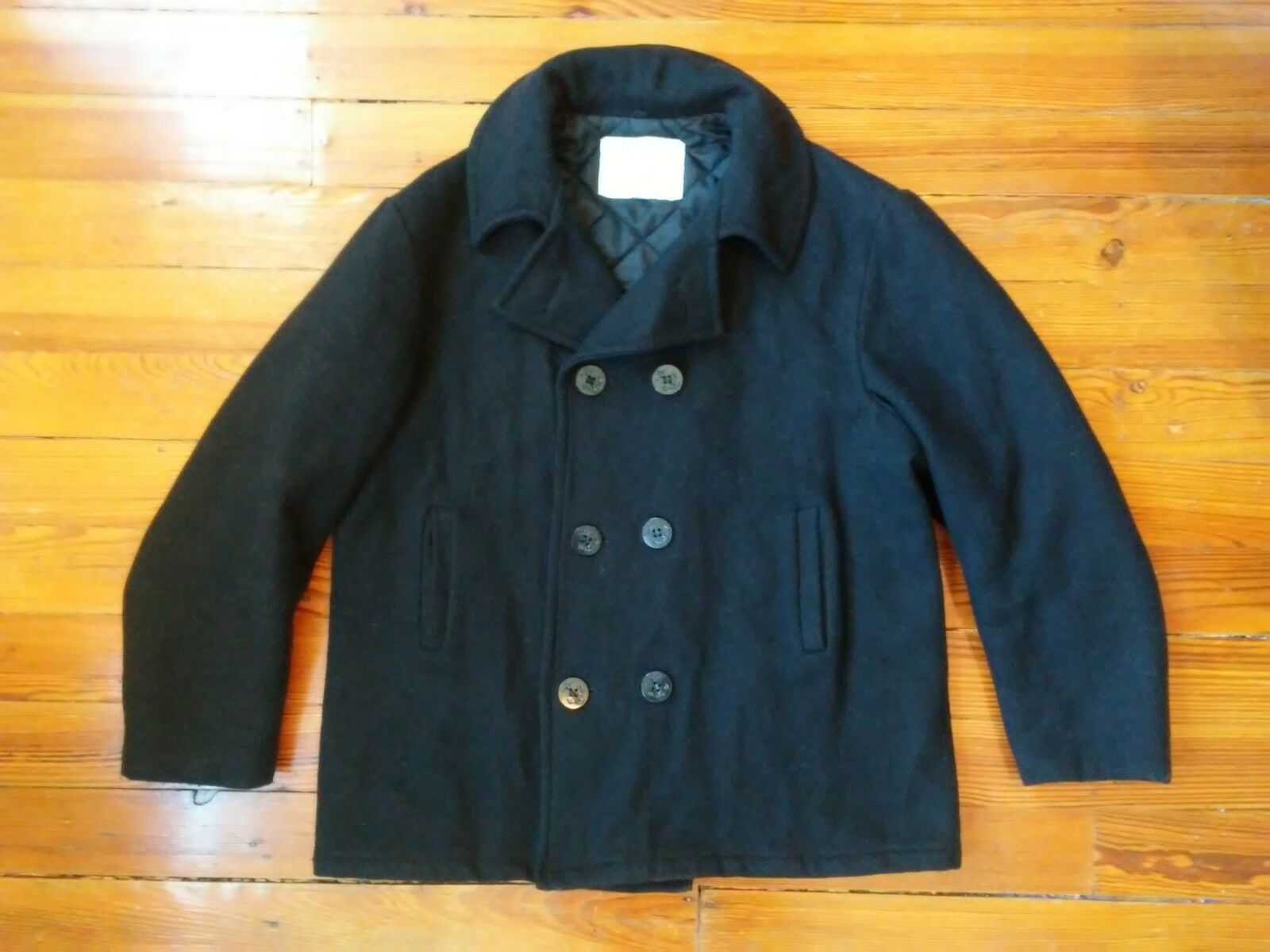 USN vintage wool peacoat  Sz XL. Classic Must Have
