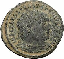 Constantine I The Great 313AD Ancient Roman Coin Jupiter Zeus Cult   i47656