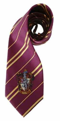 Gryffindor Tie Harry Potter Deluxe Necktie Dress Up Halloween Costume Accessory