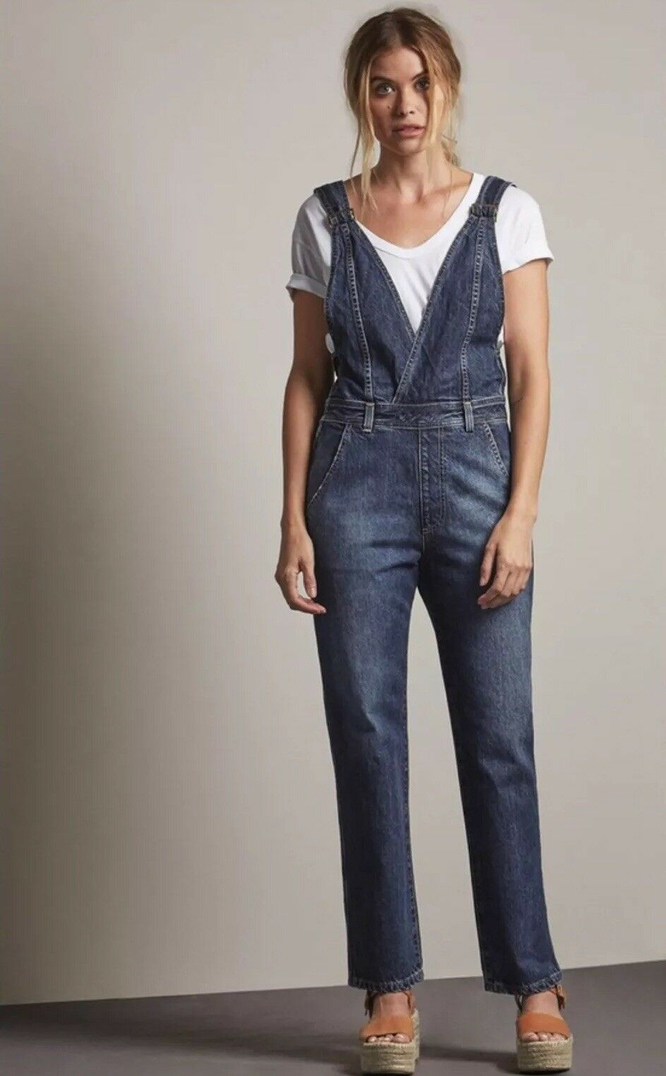 f7b2b093fa1d AG Adriano Goldschmied Mabel Overalls - Anthropologie M for sale ...