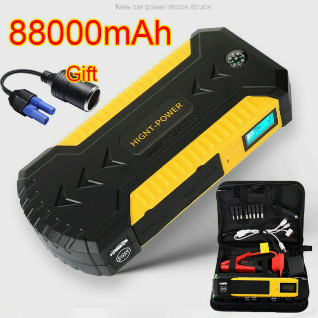 a2f030486a98 Waterproof 12V 88000mah Car Jump Starter Booster 4USB Charger Battery Power  Bank