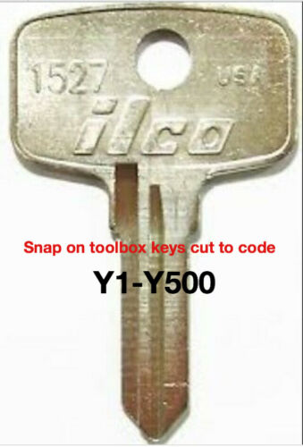Snap on key to code