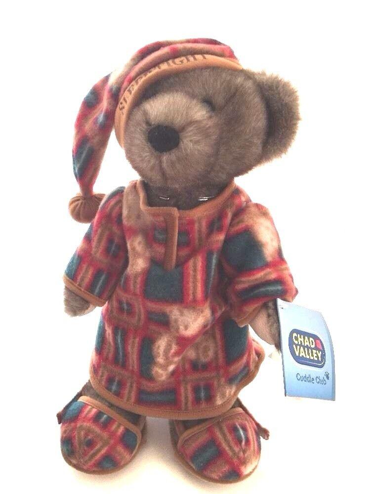 Teddy Teddy Teddy Bear Chad Valley Toys Antique Sleep tight Cuddle Club VTG Rare Dispaly 545aae