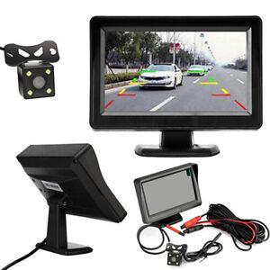 4-3-034-TFT-LCD-Monitor-Car-Rear-View-Camera-Night-Vision-Reverse-Camera-Kit-AU