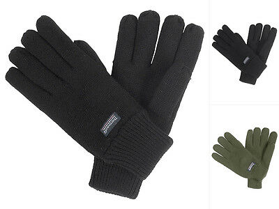 Besatz Thinsulate Winterhandschuhe Fleecehandschuhe S-XXL AB Fleece-Handschuhe