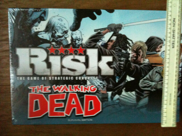 THE WALKING DEAD RISK SURVIVAL EDITION - THE BOARD GAME OF STRATEGIC CONQUEST