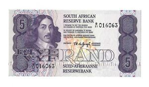 SOUTH AFRICA 2 Rand Sign 6 1981 P-118b UNC Uncirculated