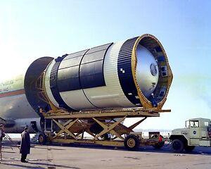 SATURN-V-S-IVB-STAGE-SKYLAB-UNLOADED-REDSTONE-AIRFIELD-8X10-NASA-PHOTO-BB-909