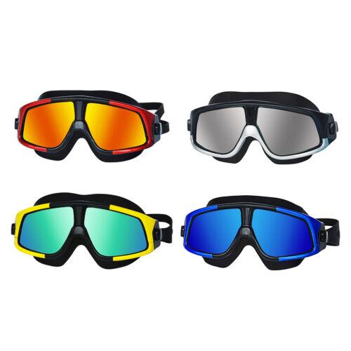 Ajuste rápido Gafas de natación para hombres y Mujeres Protección UV Gafas De Natación Marco Grande