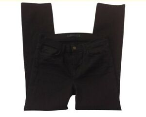 14209c136cf6 J Brand Shadow Black Mid Rise Cigarette Jeans Size 29 Style Number ...