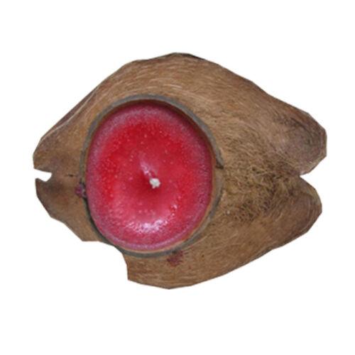 Kerze Kokosnusskerze Duftkerze Schwimmkerze Zitrone Erdbeer Teelicht Aroma NEU