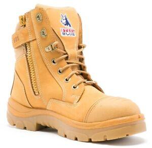Steel-Blue-Southern-Cross-Zip-Boot-RRP-199-99-FREE-POSTAGE