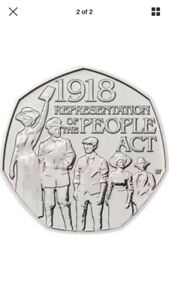 50p 2018 Representation of the People Act Uncirculated from Sealed Bag