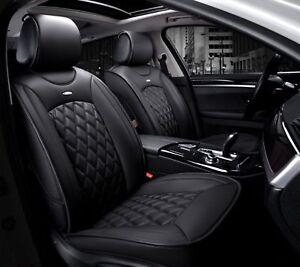 Ford-Peugeot-Fiat-Housses-Siege-Noir-1-1-Luxe-Auto-Voiture-En-Cuir