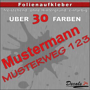 HN1-Hausnummer-Tuerschild-Aufkleber-Schild-Briefkasten-Nummern-Strasse