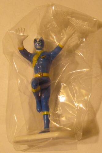 "Blue Ranger Power Rangers 2.6/"" Tall Action Figure Cake Topper MIP"