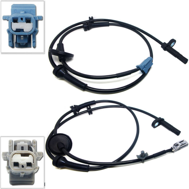 Right ABS Wheel Speed Sensor For 2003-2007 Nissan Murano 3.5L 2pcs Front Left