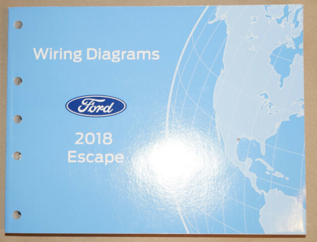 2018 Ford Escape Evtm Factory Electrical Wiring Diagrams Service Manual