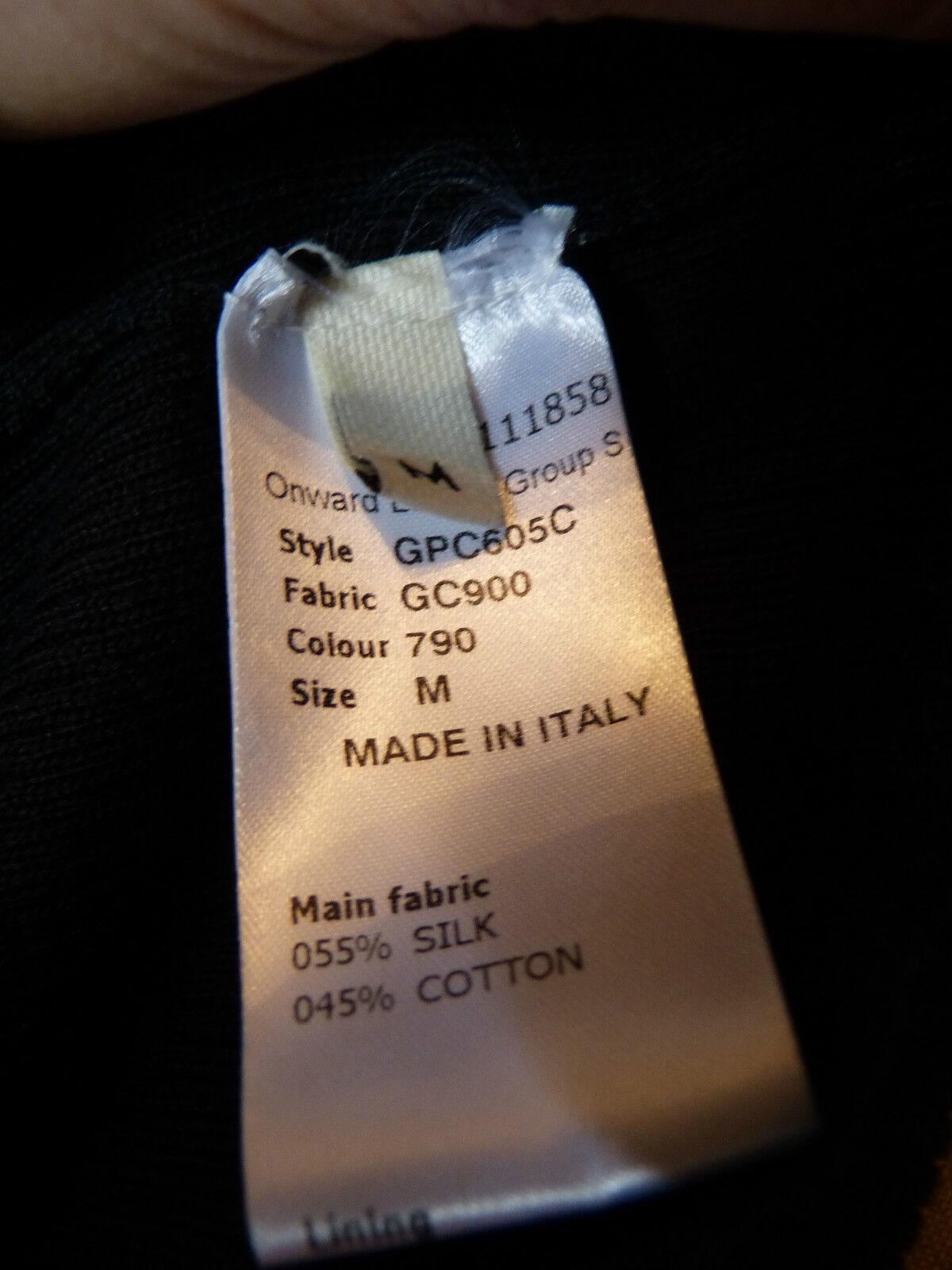 Ddd ROBE ROBE ROBE blackE marque JEAN PAUL GAULTIER NEUVE T M 38 40 55% SOIE 45% COTON 633818