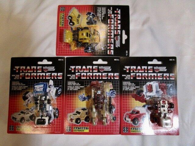 2018 Walmart Transformers Sealed Lot Of 4 MIB scatola Misb autoded Minibots
