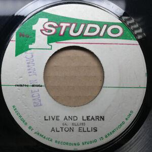 ALTON-ELLIS-034-Live-And-Learn-034-SOUL-VENDORS-1974-STUDIO-ONE-REGGAE-vinyl-45-mp3