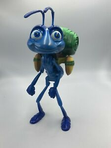 Disney Pixar A Bugs Life Flik Interactive Talking Toy Figure City Trip Figure