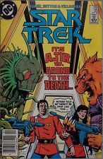 DC COMICS STAR TREK # 25 It's AJIR vs Grond to the death - 1986