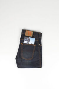 31255-Nudie-Jeans-SLIM-JIM-Ghiacciaio-indigo-blu-scuro-uomo-jeans-TAGLIA-28-32