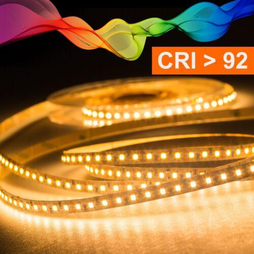 2700K LED Strip 2835 Warmweiß CRI 92 36W 5 Meter 24V IP20
