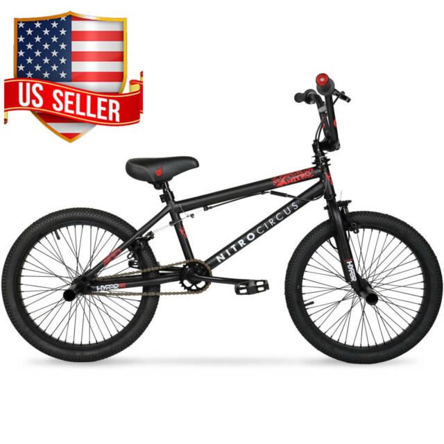 20 inch BMX Street Dirt Bike For Teen Boy Kid Steel Frame Bicycle Christmas Gift