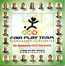 Fair Play Team-Se Bastasse Una Canzone Cd Single Promo Carboard Sleeve NM/NM