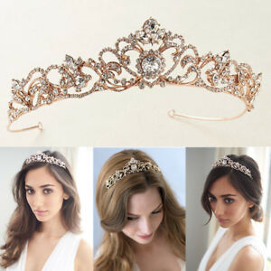 Wedding-Princess-Tiara-Bridal-Crown-Prom-Headbands-Headpiece-Gifts
