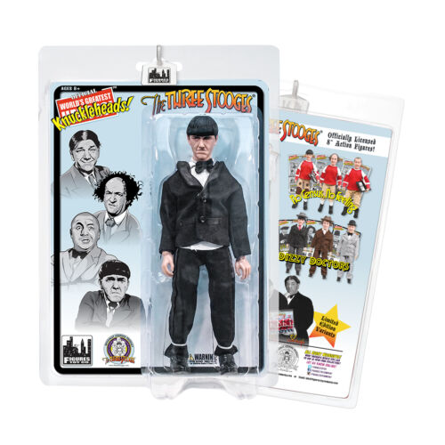 The Three Stooges 8 Inch Action Figures Tuxedo Moe