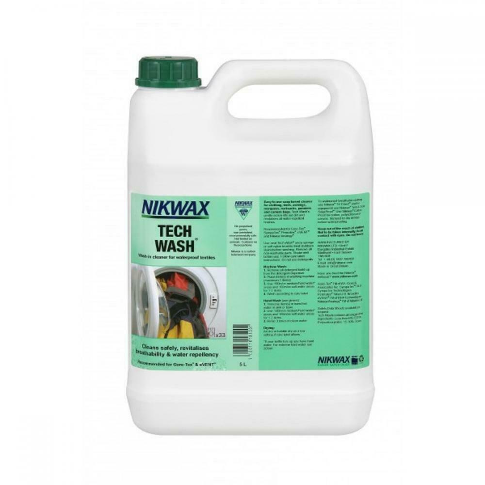 Nikwax Tech Wash 5 Litre Wash-in Cleaner Waterproof Outdoor Clothing