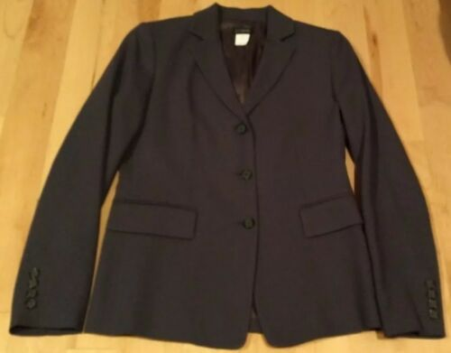 J.Crew Womans Business Suit 100% wool gray Size Pe