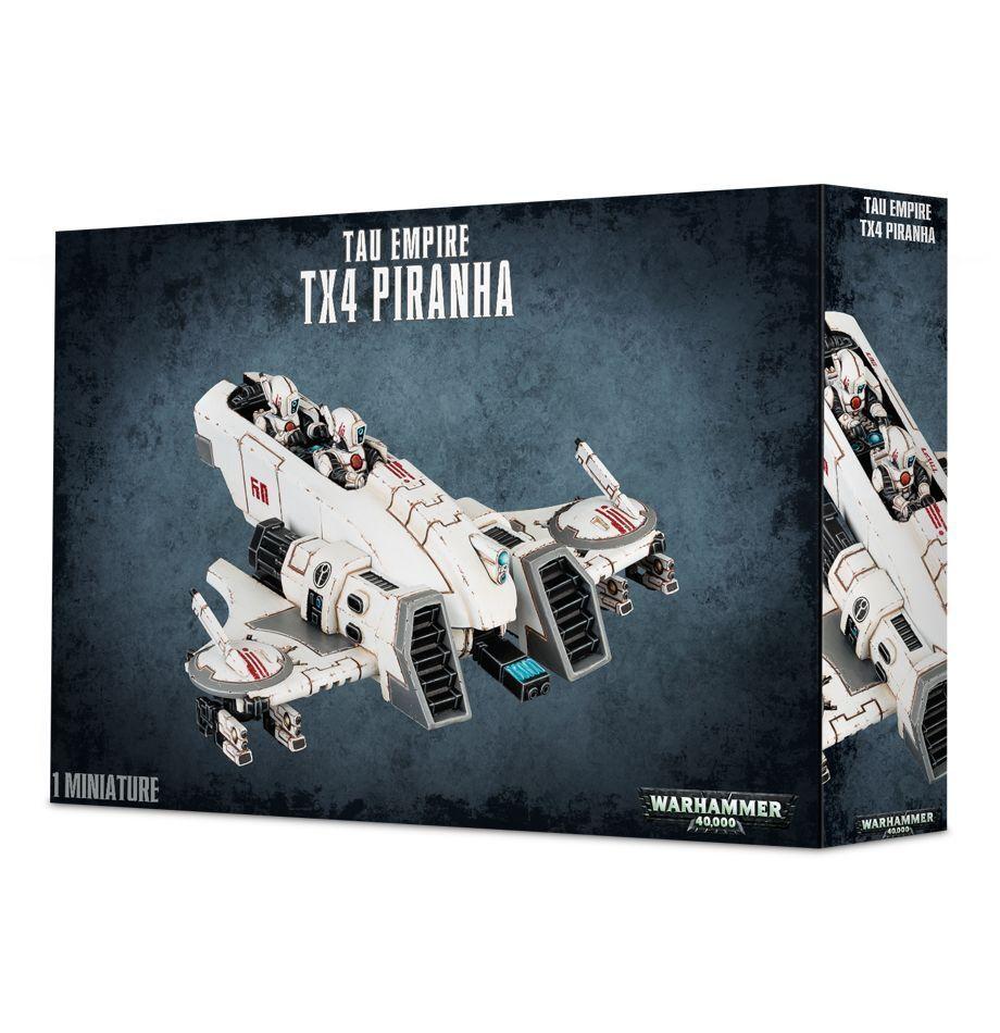 warhammer neue 40k tau - imperium tx4 piranha - neue warhammer e050f5