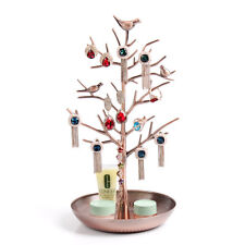 Dazone Birds Tree Jewelry Stand Display Earring Necklace Holder