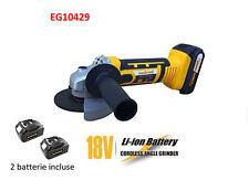 Smerigliatrice Flex Frullino 18 Volt Litio 2 Batterie 2,0Ah