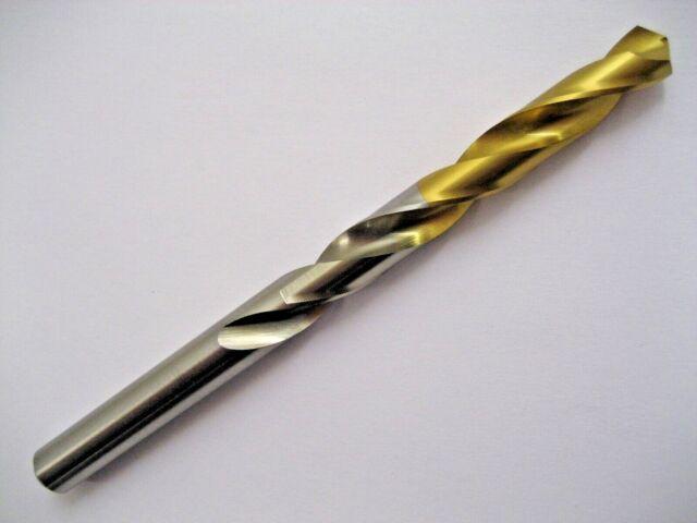 Pack of 10pcs Dormer A002 HSS High Speed Steel Jobber Drill Bit with 118 Degree Tin Tipped Split Point