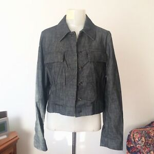 Caricamento dell immagine in corso GUCCI -Cotton-Denim-Jacket-Size-IT44-New-Without- b35fff76f6df