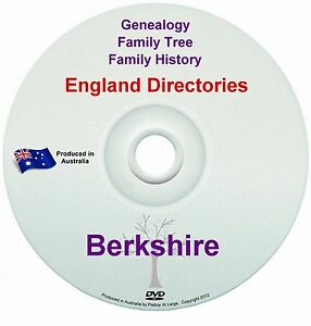 Family History Tree Genealogy Directories Post Office Trades Berkshire New DVD