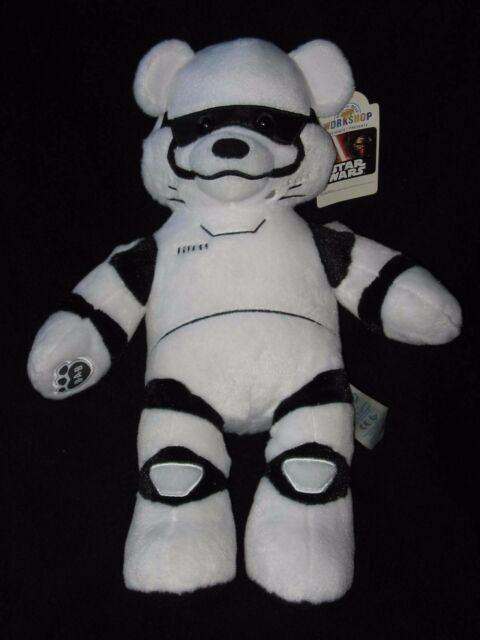 Build a Bear Storm Trooper Teddy Star Wars The Force Awakens NWT 18""