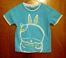 YAYIPA youth T shirt size 10 nipple head Japanese bunny fat rabbit anime OG toon