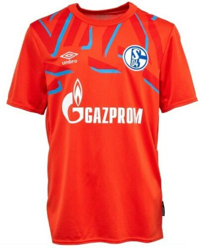 Umbro Jungen S04 Schalke Home Goalkeeper Fußball Trikot Orange Größe 152