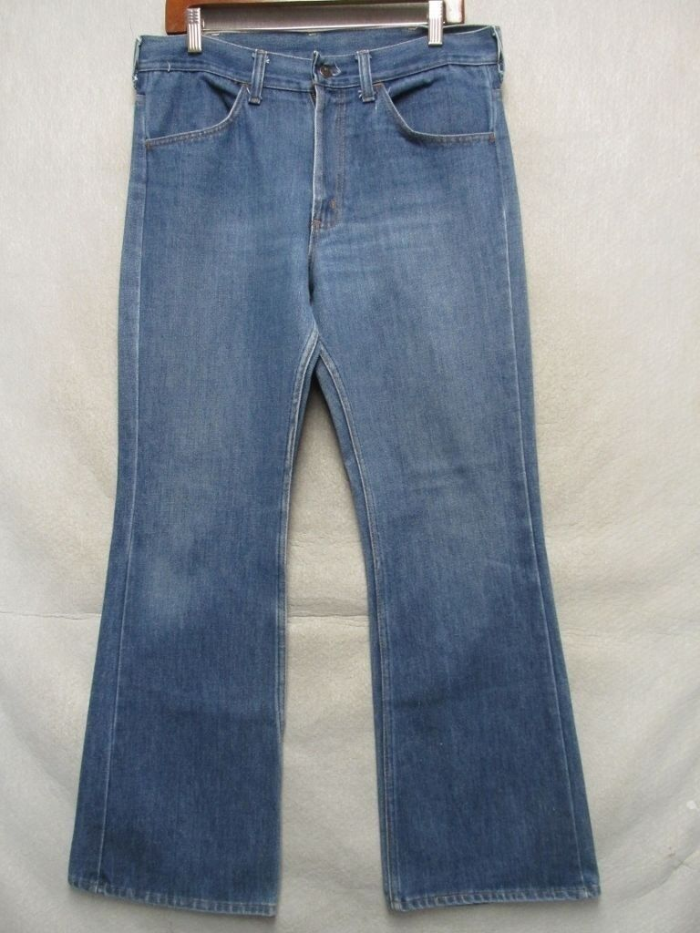 D1063 Thumbs Up Sears Vintage 21.3ms Stiefelcut-Jeans Herren 34x31