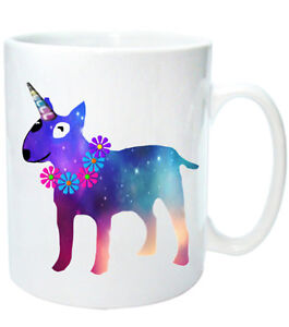 Bull-Terrier-Mug-034-Unibullie-034-Dog-Mugs-English-Bull-Terrier-Unicorn-Xmas-gift