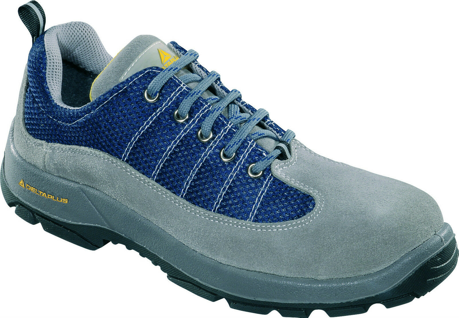 Delta Plus Panoply Rimini 2 S1P Grey Navy bluee Mens Safety Toe Cap Work Trainers