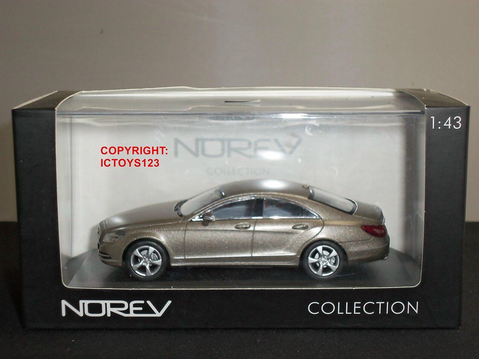 NOREV 351300 351300 351300 MERCEDES BENZ CLS 350 CGI GREY DIECAST MODEL CAR f44d59